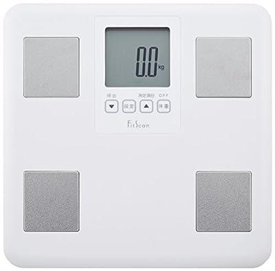 タニタ 体重・体組成計 ホワイト Fs-400-wh