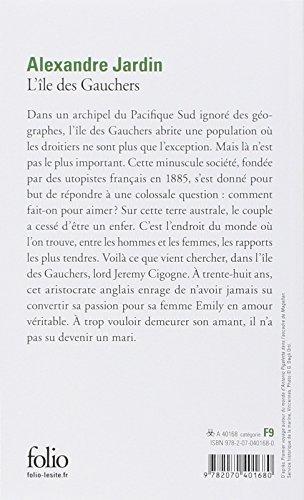 Libro l 39 le des gauchers di alexandre jardin for Alexandre jardin epub