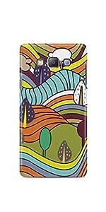 Casenation Landscape Drawing Samsung Galaxy A5 Matte Case
