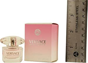 VERSACE BRIGHT CRYSTAL by Gianni Versace for WOMEN: EDT .17 OZ MINI (note* minis approximately 1-2 inches in height)