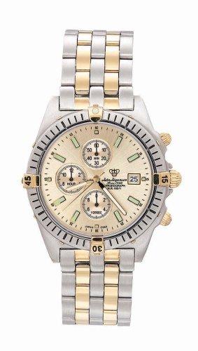 Jules Jurgensen Men's Chronograph Two-Tone Watch #7668T - Buy Jules Jurgensen Men's Chronograph Two-Tone Watch #7668T - Purchase Jules Jurgensen Men's Chronograph Two-Tone Watch #7668T (Jules Jurgensen, Jewelry, Categories, Watches, Men's Watches, Sport Watches)