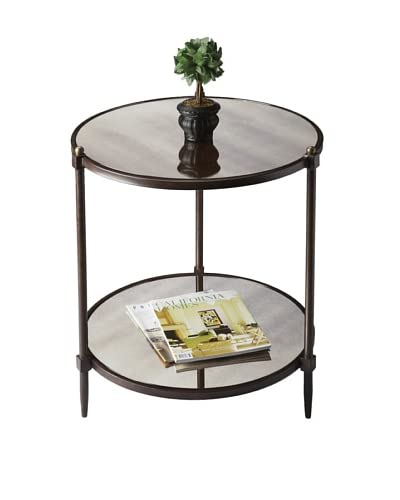 Butler Specialty Company Copper and Gray Side Table