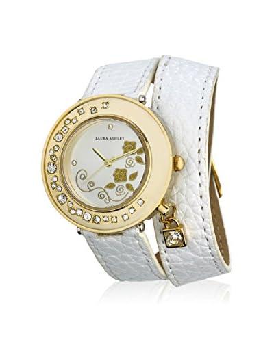 Laura Ashley Women's LA31008WT Analog Display Japanese Quartz White Watch