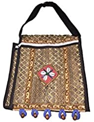 The House Of Cane Women's Sling Bag Ivory (THC_8_Ivory)