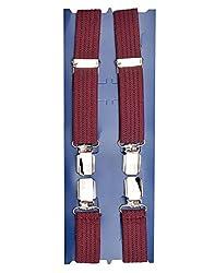 TieKart Wine Patterns Men's Belts-Suspenders