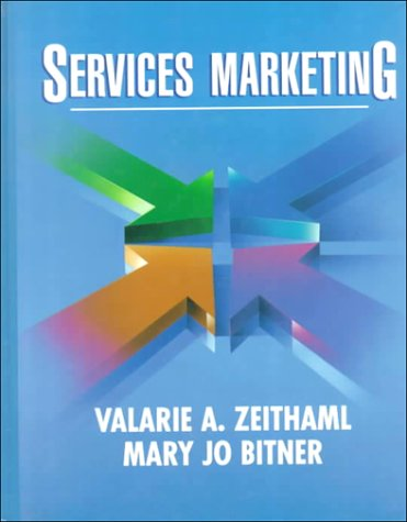 Services Marketing (Mcgraw-Hill Series in Marketing)