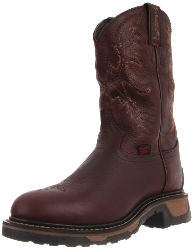 Tony Lama Boots Men's Waterproof Steel Toe TW1009 Work Boot,Briar Pitstop,9.5 D US
