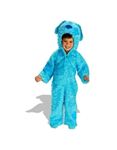 [Blue's Clues Plush Costume - Toddler/child Costume deluxe] (Blues Clues Costumes Toddler)