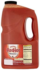 Franks Original Red Hot Cayenne Pepper Sauce 1 Gallon from Queen City cANDY