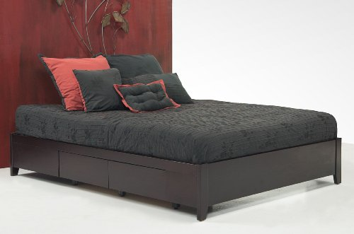 Modus Furniture Sp23d5 Simple Queen Platform Storage Bed