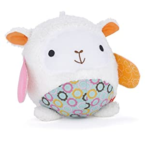 Skip Hop Hug & Hide Chime Ball - Lamb