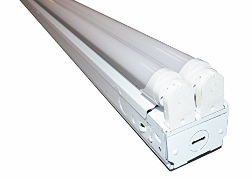 8 ft. Industrial Retail Flush Mount 4 Light T8