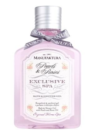 Manufaktura Home Spa Manufaktura Home Spa Luxurious Bath and Shower Gel with Pearls and Rose Oil