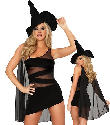 3WISHES 'Rhiannon Costume' Sexy Witch Halloween Costumes for Women