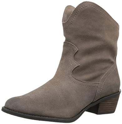 Naughty Monkey Women's Havoc Boot,Taupe,6 M US