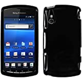 Black Protector Case for Sony Ericsson Xperia Play / R800 (Verizon)