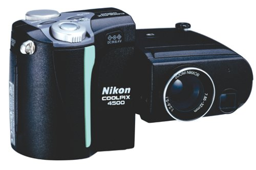 For Sale Nikon Coolpix 4500 4MP Digital Camera w 4x Optical Zoom