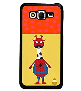 PrintDhaba Funny Image D-3730 Back Case Cover for SAMSUNG GALAXY GRAND PRIME (Multi-Coloured)