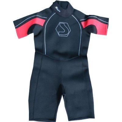 Childs / Baby Shortie Wetsuit LOW Neck. Swarm 2mm summer suit, ideal for surfing swimming or UV sun protection.Swimming, Surfing, Beach wear. Full Range Of Childrens Sizes