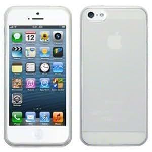 Decrescent Coque en gel silicone pour iPhone 5 d'Apple - transparent