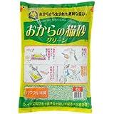 常陸化工 おからの猫砂グリーン 6L
