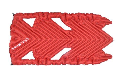 Klymit Inertia X Wave Sleeping Pad, Red front-48765
