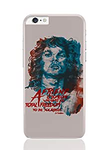 PosterGuy iPhone 6 Plus Case & Cover - Jim Morrison A Friend is Someone Quote The Doors Music Legends and Bands