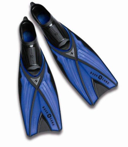 Aqua Lung Grand Prix - Pinne, a tinta unita, Blu (blu), 44/45