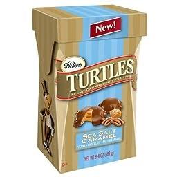 DeMet\'s Turtles Sea Salt Caramel Nut Clusters, 6.4 oz