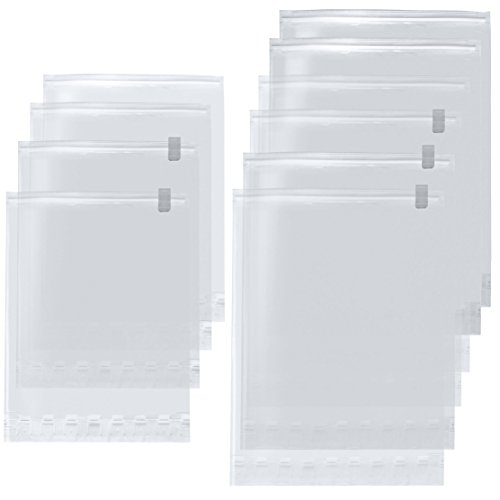 【Amazon.co.jp限定】 掃除機不要!  衣類圧縮袋 L6枚・M4枚 10枚組 日本製