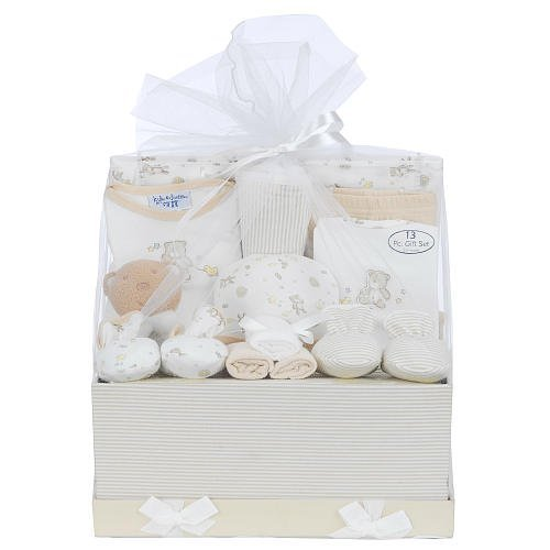 Kyle & Deena 13-piece Fancy Box in Tulle - Tan - 1