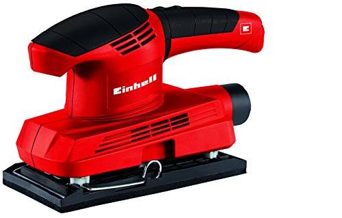 Einhell-Schwingschleifer-TC-OS-1520-150-W-93x187-mm-Staubfangbox-und-Absaugadapter-3x-Klett-Schleifpapier-P120