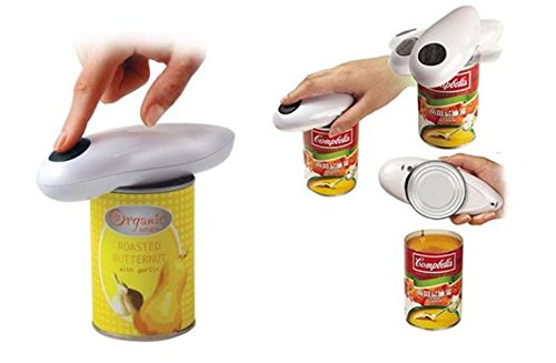 YIYATOO New One Touch Automatic Can Jar Opener Tin Open Tool Cordless Battery Operated