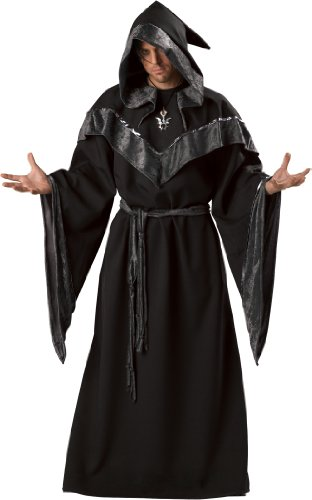 Men's Dark Sorcerer Robe X-Large