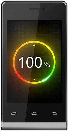Intex Aqua V4 Smart Mobile Phone - (Grey-Black)