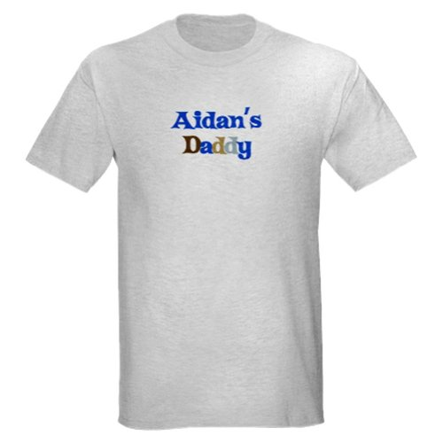 Personalized Aidan'S Daddy Father'S Day Shirt - Customize With Any Boy Or Girls Name front-939602