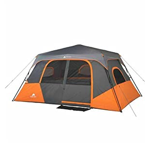 Buy Ozark Trail 8 Person 2 Room Instant Cabin Tent Family Camping Outdoor Height74 -... by Ozark Trail