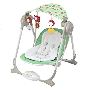 chicco altalena polly swing colore green land amazon