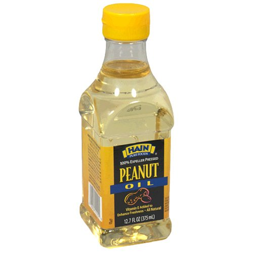 Hain Pure Foods Peanut Oil, 12.7-Ounce Unit (Pack of 6)
