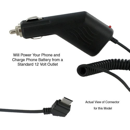 Samsung SGH-T219 Cell Phone Car Adapter Cellphone Car Charger - Replacement For Samsung SGH-T809 Car Charger