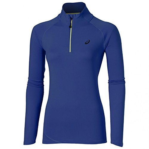 asics-lite-show-womens-1-2-zip-manches-longues-t-shirt-course-a-pied-ss16-m
