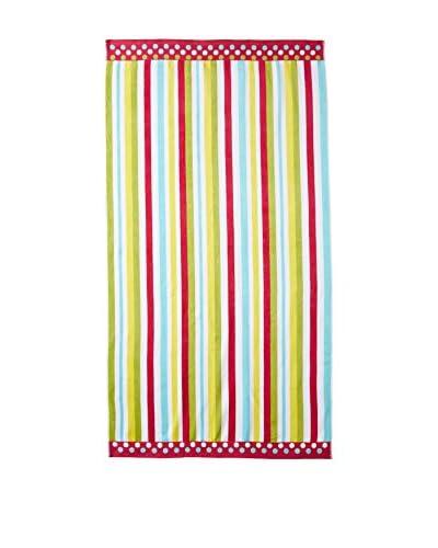 Espalma Velour Towel, Vivid Stripe