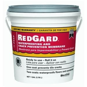 CUSTOM BLDG PRODUCTS LQWAF1-2 Redgard Waterproofing, 1 gal (Waterproof Grout Sealer compare prices)