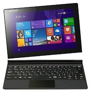 レノボ・ジャパン Lenovo MIIX 3 Atom Z3735F/Windows 8.1/2GB/64GB/10.1型FHD マルチ・タッチIPS液晶/Ms-Office非搭載