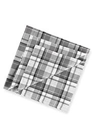 4 Pack Pure Cotton Checked Handkerchiefs [T09-99614-S]