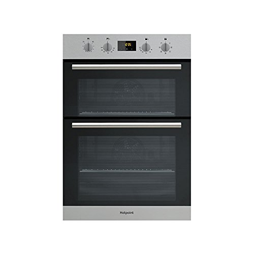 Hotpoint DD2544CIX Built-In Double Oven Electric Fan A Energy Inox
