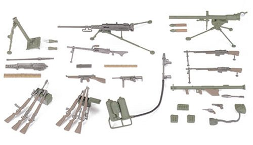 Tamiya 1/35 US Infantry Weapons Set TAM35121