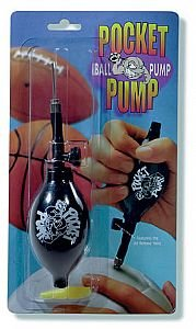 Pocket Pump - A Must For Any Sport Where An Inflatable Ball Is Used! Compact Style Fits Into Your Pocket! (Air Pump For Basketball, Soccer, Volleyball, Football) front-185762