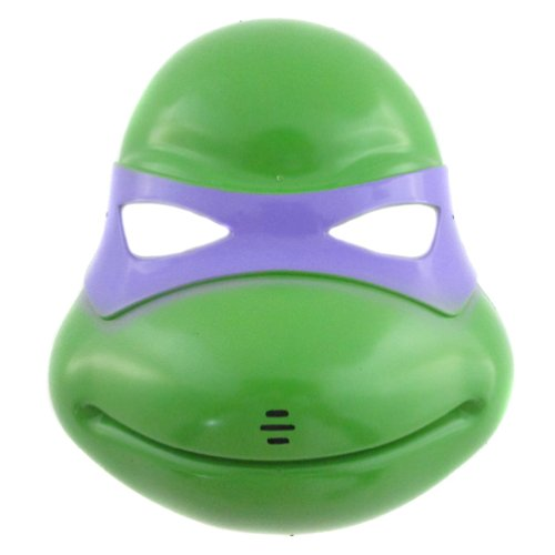 Green/Purple Venetian Teenage Mutant Ninja Turtles Mask Masquerade Ball Costume Party