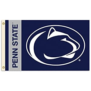 Buy NCAA Penn State Nittany Lions 2-Sided Flag with Grommets (3 x 5-Feet) by BSI